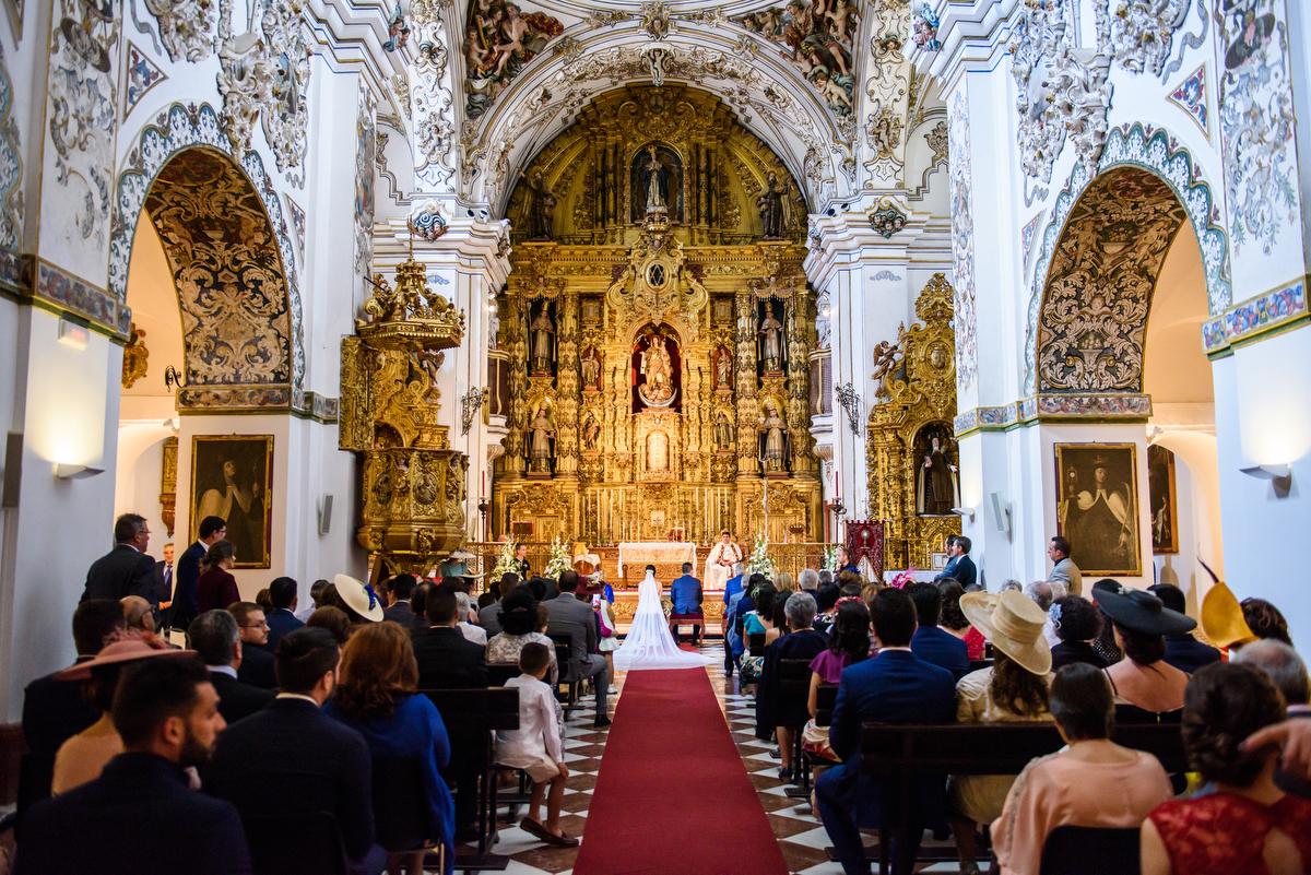 Boda en Iglesia de los Descalzos, Écija (Sevilla - Spain)