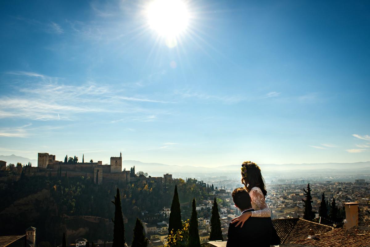 Boda en Granada, Mirador de San Nicolás