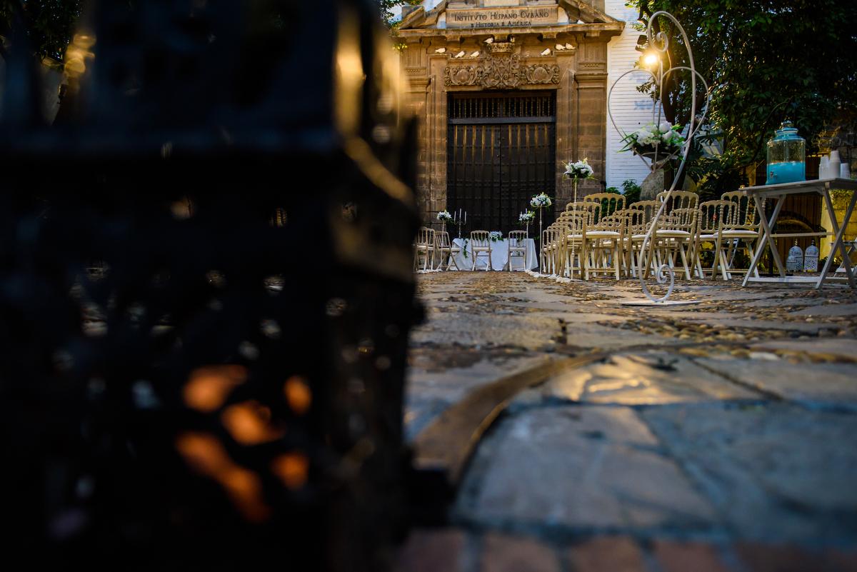 Ceremonia en Museo de Carruajes