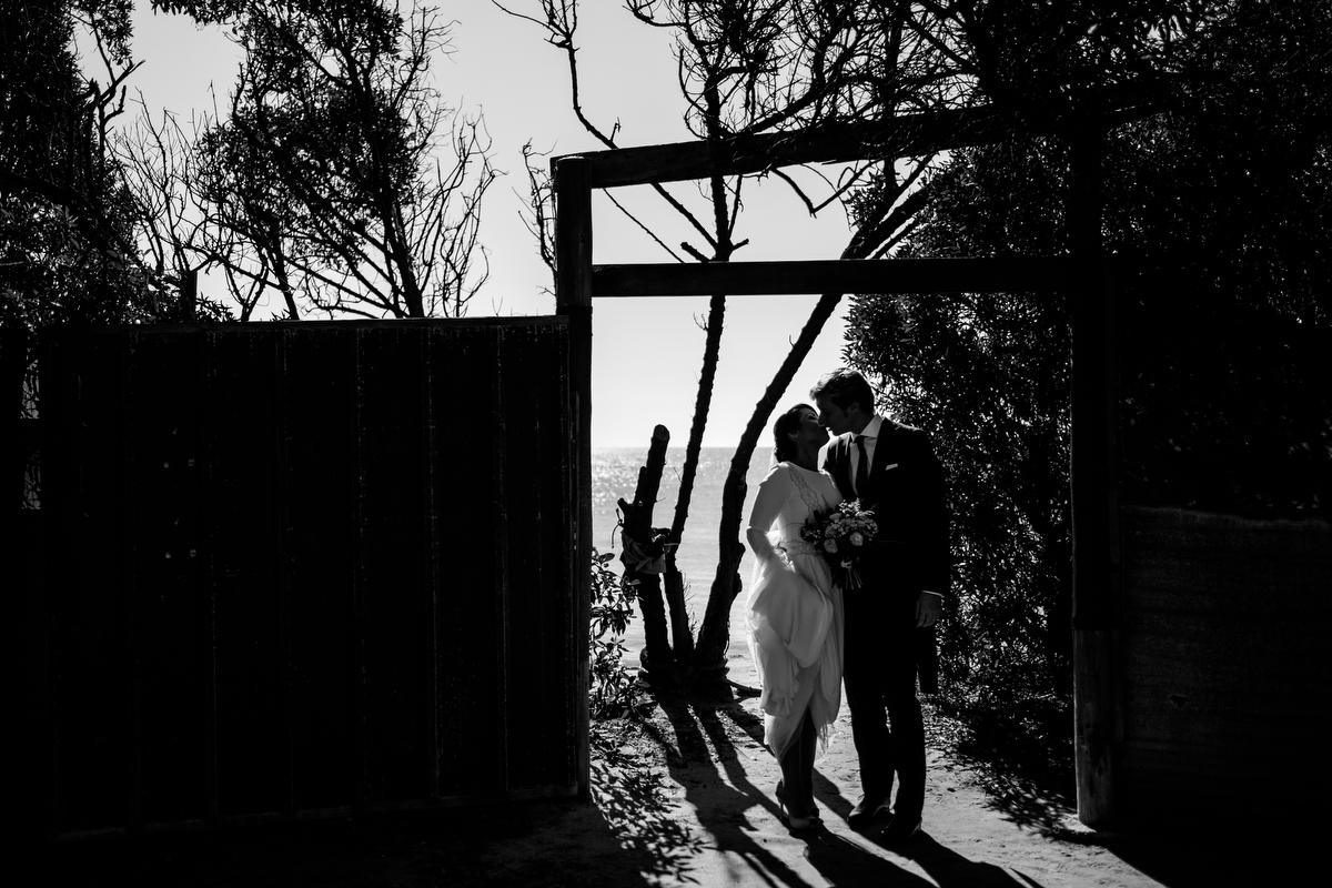 Sesión de Cristina y Antonio durante su boda.