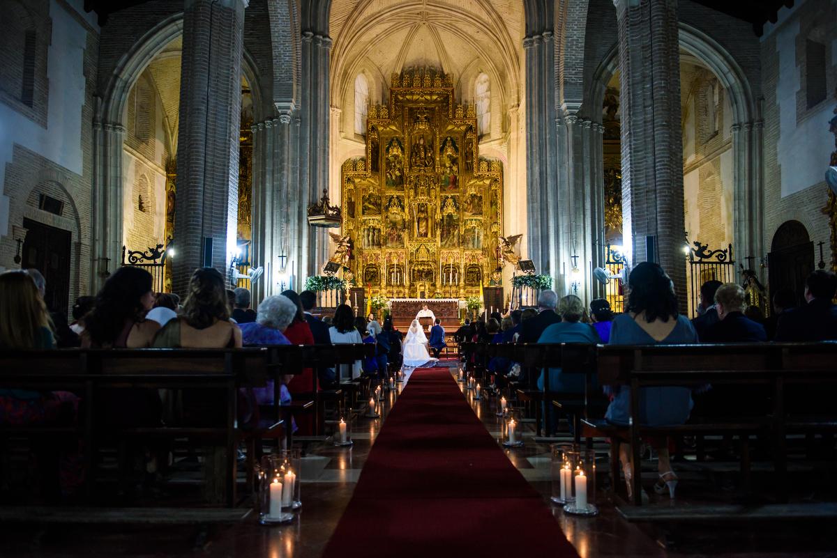 Boda en Iglesia de Santiago